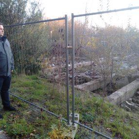 Cees Van Uden kijkt naar lokatie Meijert